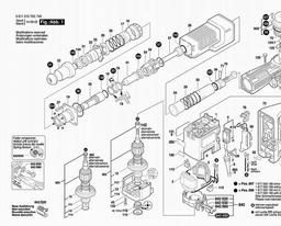 0 611 316 704 Spares for Bosch Demolition Hammer GSH 11 E ... Bosch Roto Hammers Wiring Diagrams on