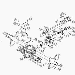 DRIVE LINE - FG010_0400 Spares for CUB CADET 2185 (Lawn