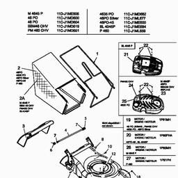 Grass Bag Blade Engine Mtd010342 Spares For Mtd 46 Po Petrol. Use Two Fingers To Move. Wiring. 139cc Mtd Ohv Engine Diagram At Scoala.co