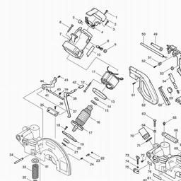 LS1214 Spares for Makita LS1214 (Saws) - Power Tool Spares on makita ls1011, makita tools repair manuals, makita ls1013l parts,